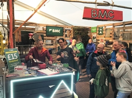 BMC steps up at Kendal Mountain Festival 2019