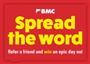 Spread the Word: refer a friend and win an epic day out