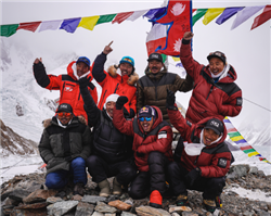 All Nepalese team become first to summit K2 in winter