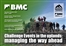 BMC conference on challenge events in the uplands