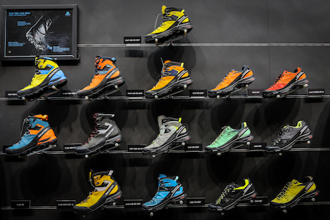Salomon mountaineering shoes