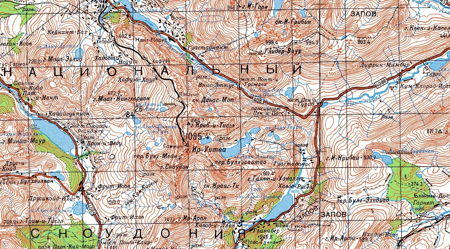 using free online mapping for expedition planning